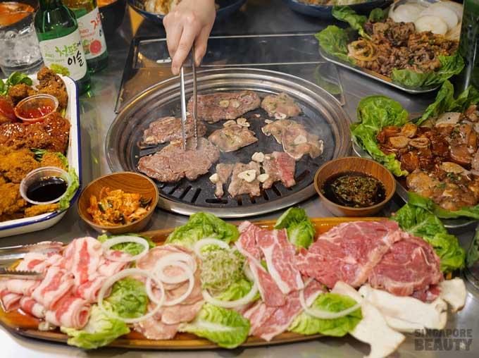 Three Jap Bowl Korean BBQ restaurant