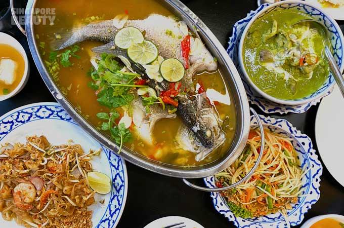 Nagara Thai food