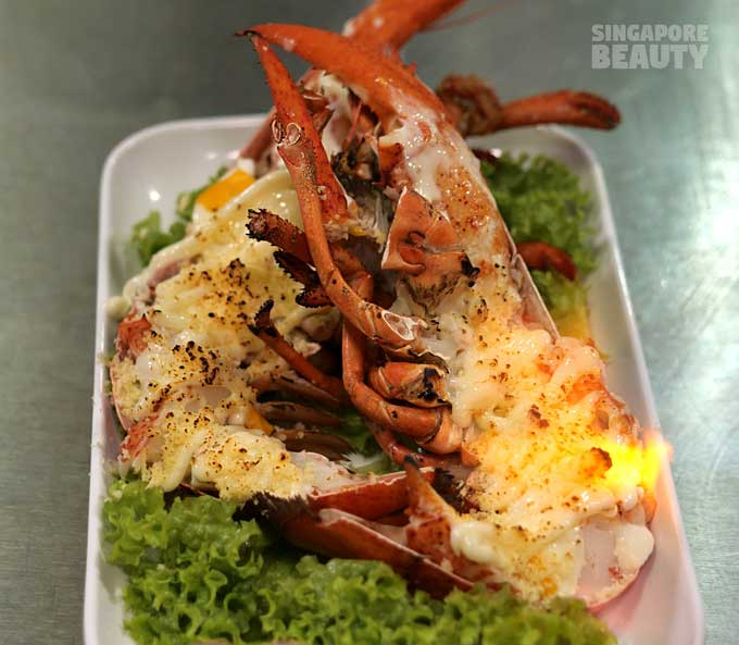 baked cheese lobster