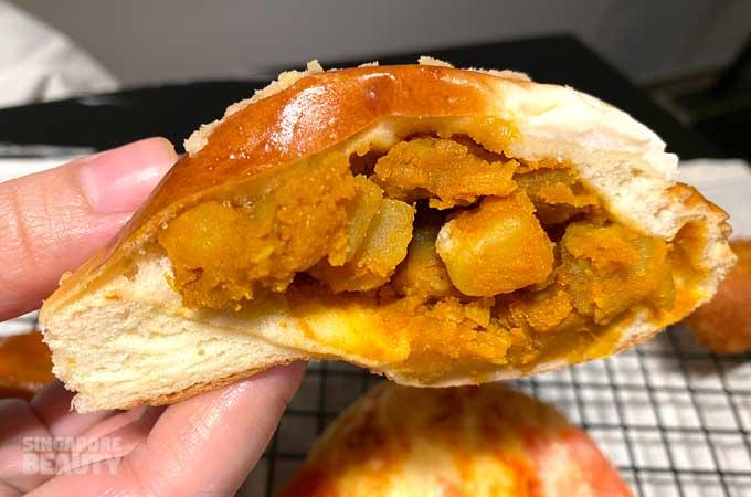 curry bun