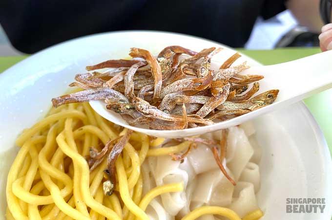 ikan-billis-noodles