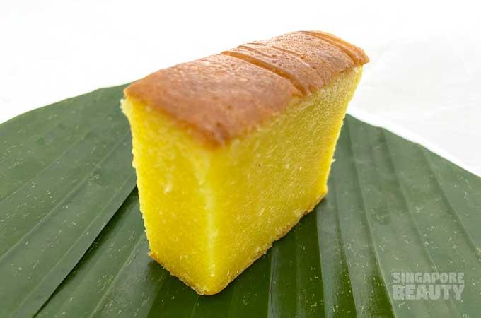 kueh bingka ubi tapioca cake