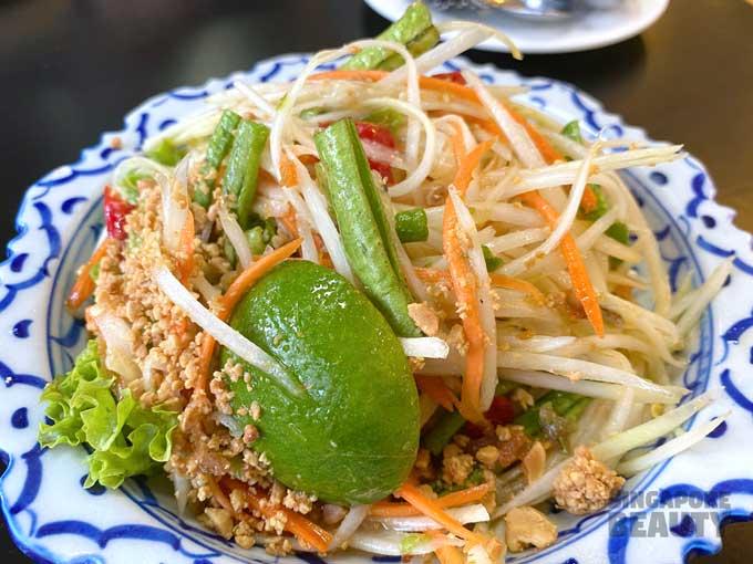 papaya salad nagara thai