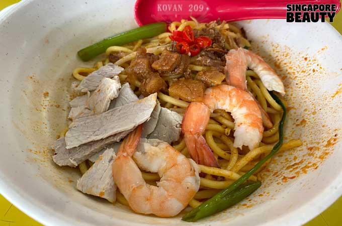 Kovan 209 Market & Food Centre - Chai Kee Prawn Noodle