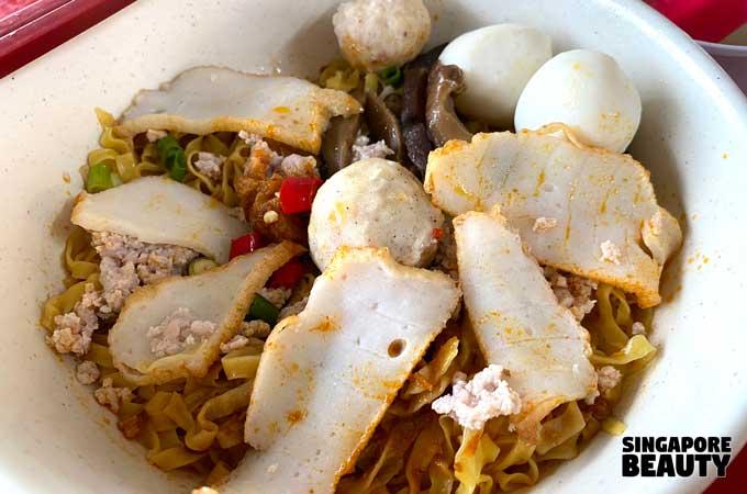 Chun Fu Fishball Minced Meat Noodle Laska