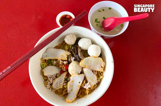 Chun Fu Fishball Minced Meat Noodle Laska