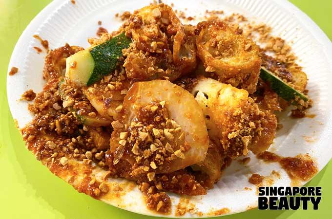 Albert Centre Hawker Food - singapore famous rojak