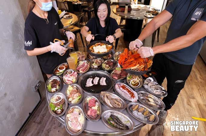91 korean bbq seafood buffet
