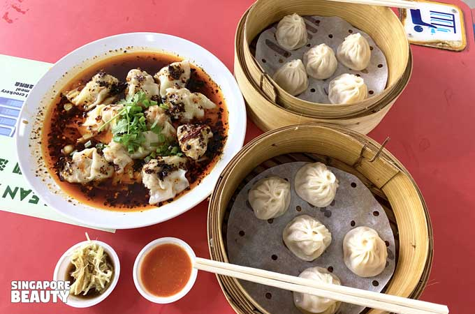Xiao Long Bao meal