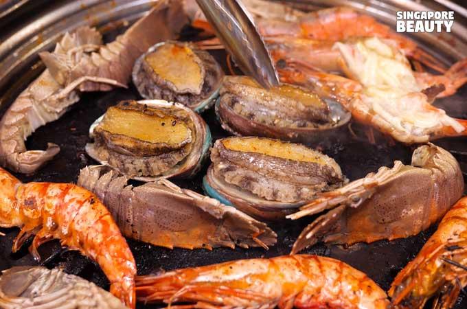 abalone bbq buffet