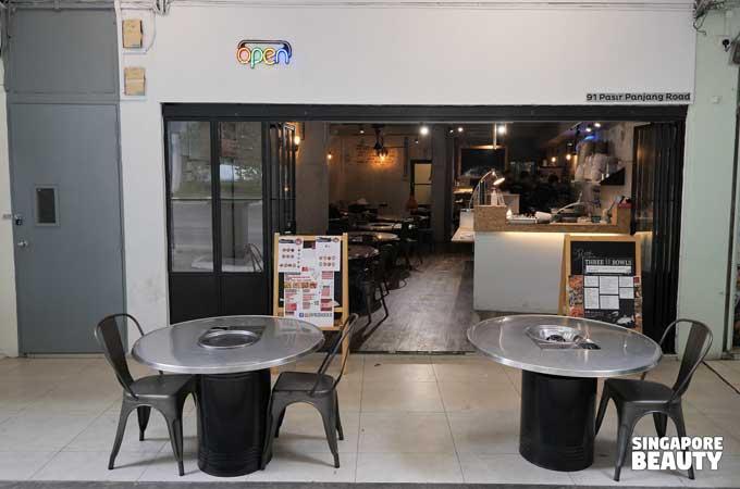 91 kbbq buffet store front