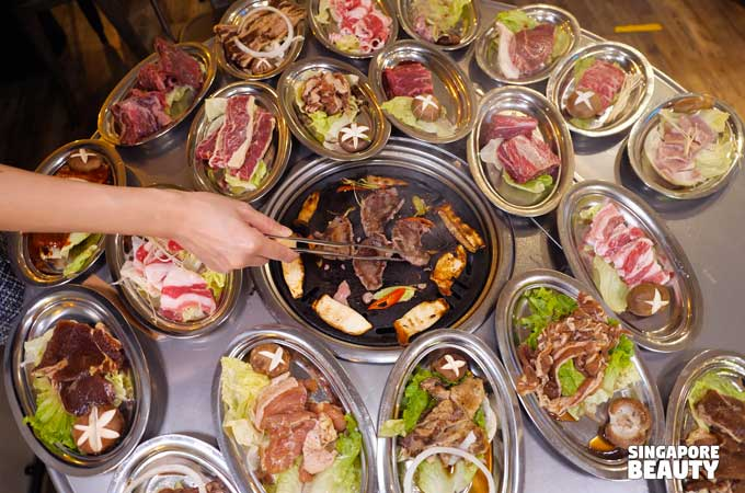 91 korean bbq buffet