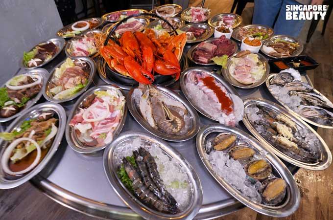 cheap seafood buffet