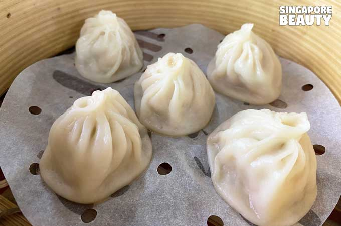 fat and plump xiao long bao