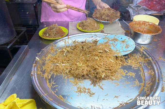 economic fried bee hoon