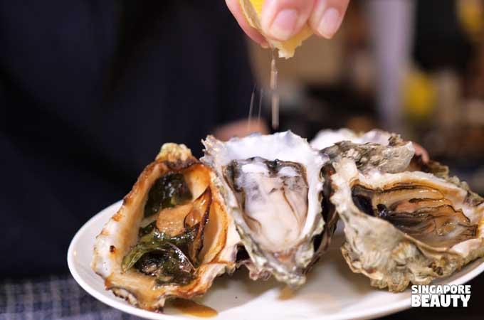 live oyster buffet