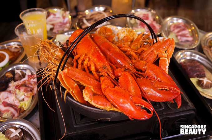 ultra korean seafood stew buffet
