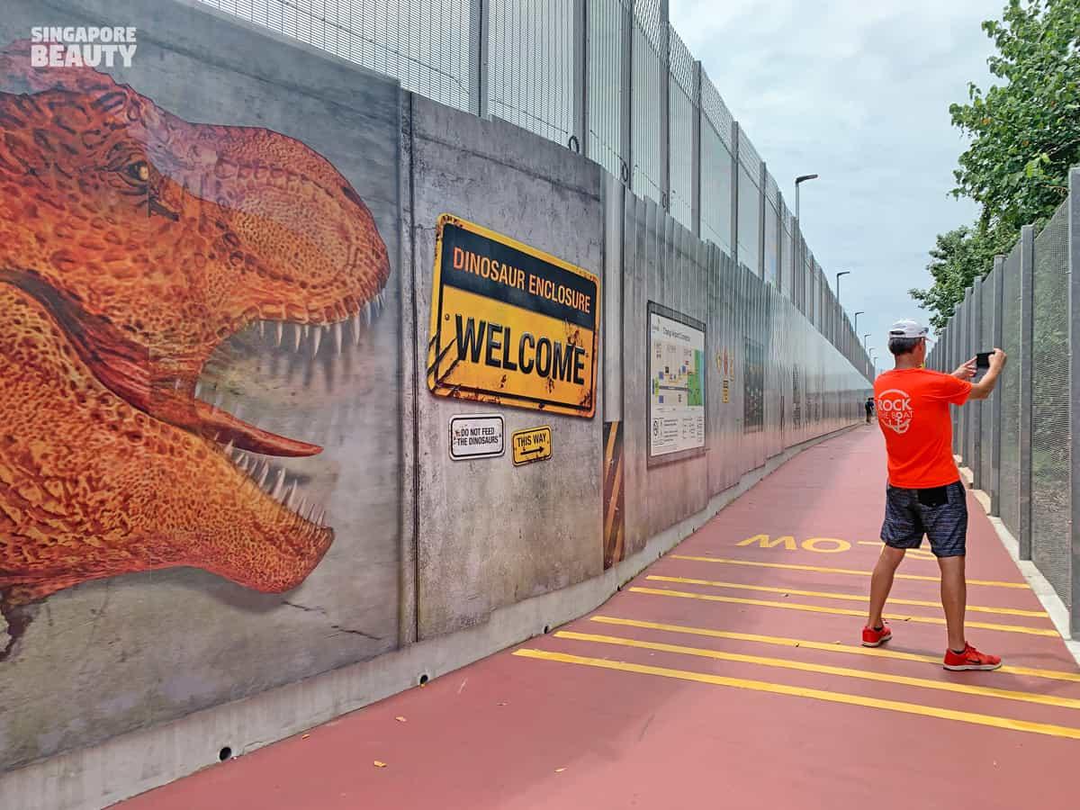 jurassic mile dinosaur instagram place singapore