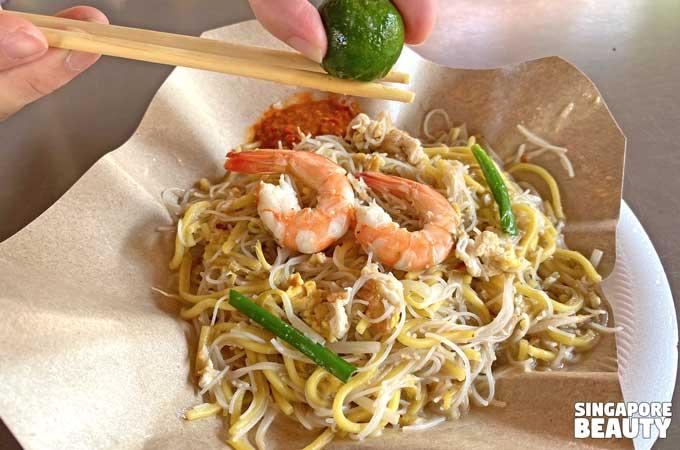 choon hiang prawn noodles