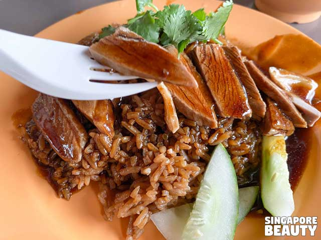 duck rice at east coast