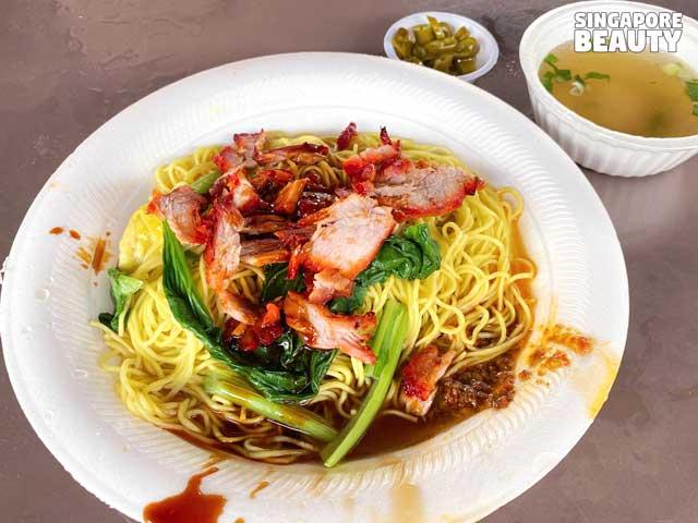 east coast food wanton noodle