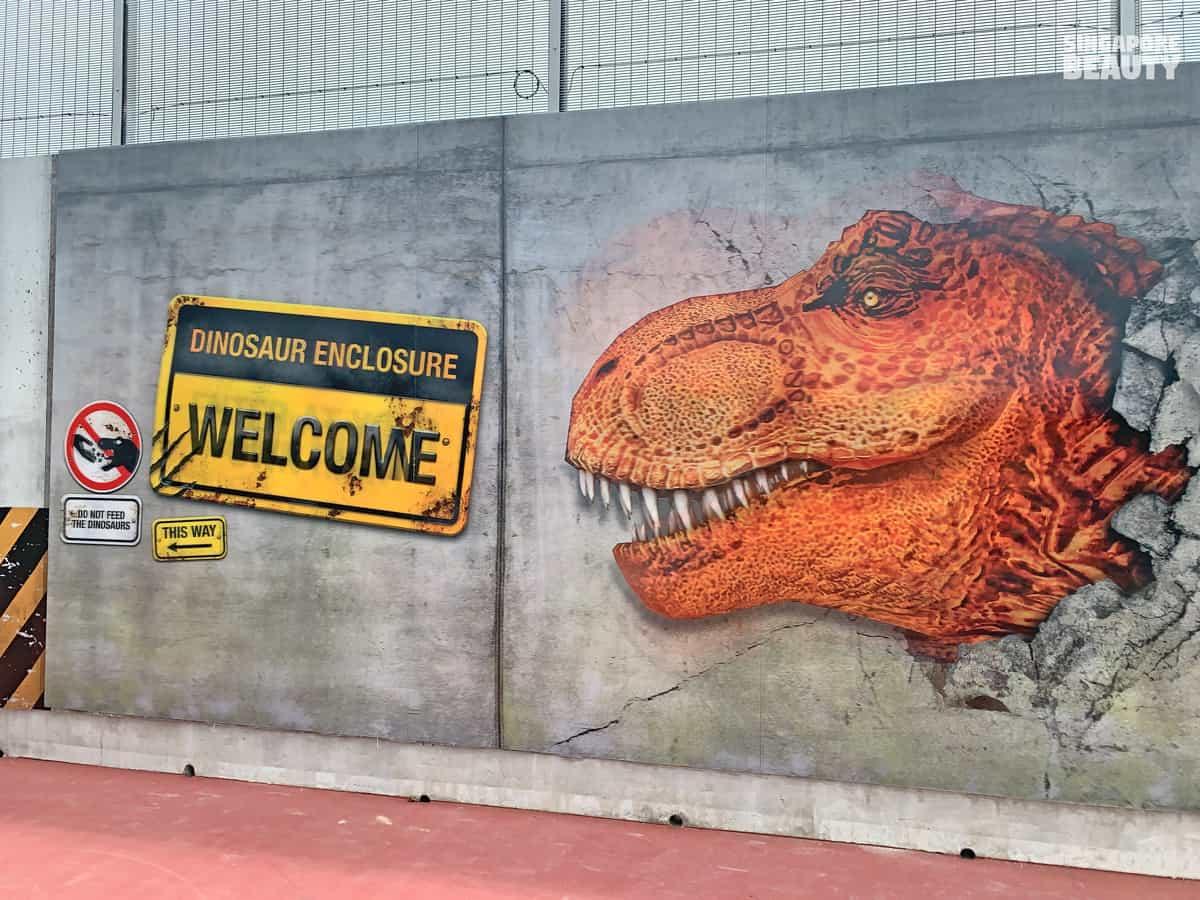 lastest tourist attraction singapore dinosaur park lenticular dinosaur