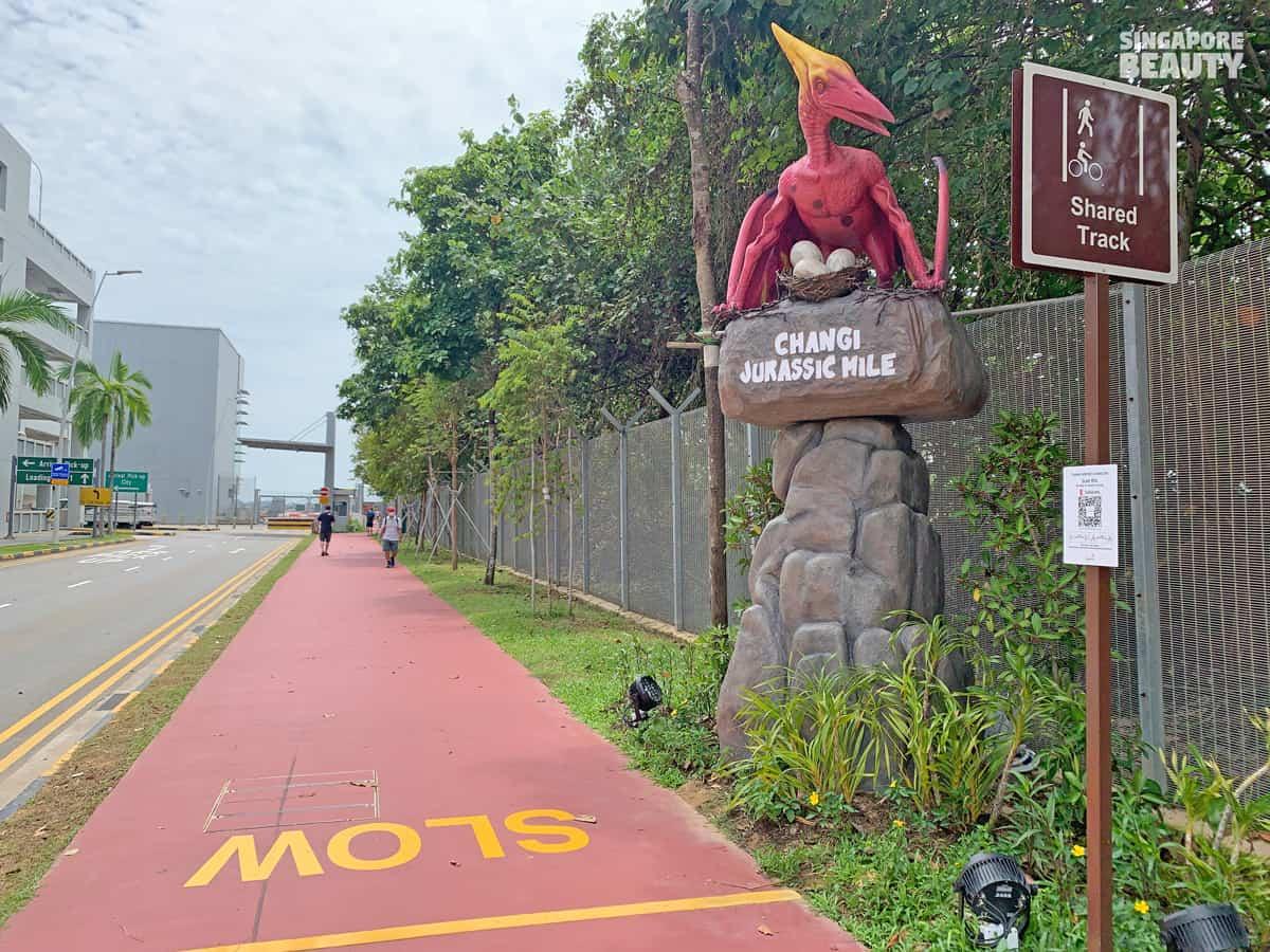 nearest carpark jurassic mile entrance