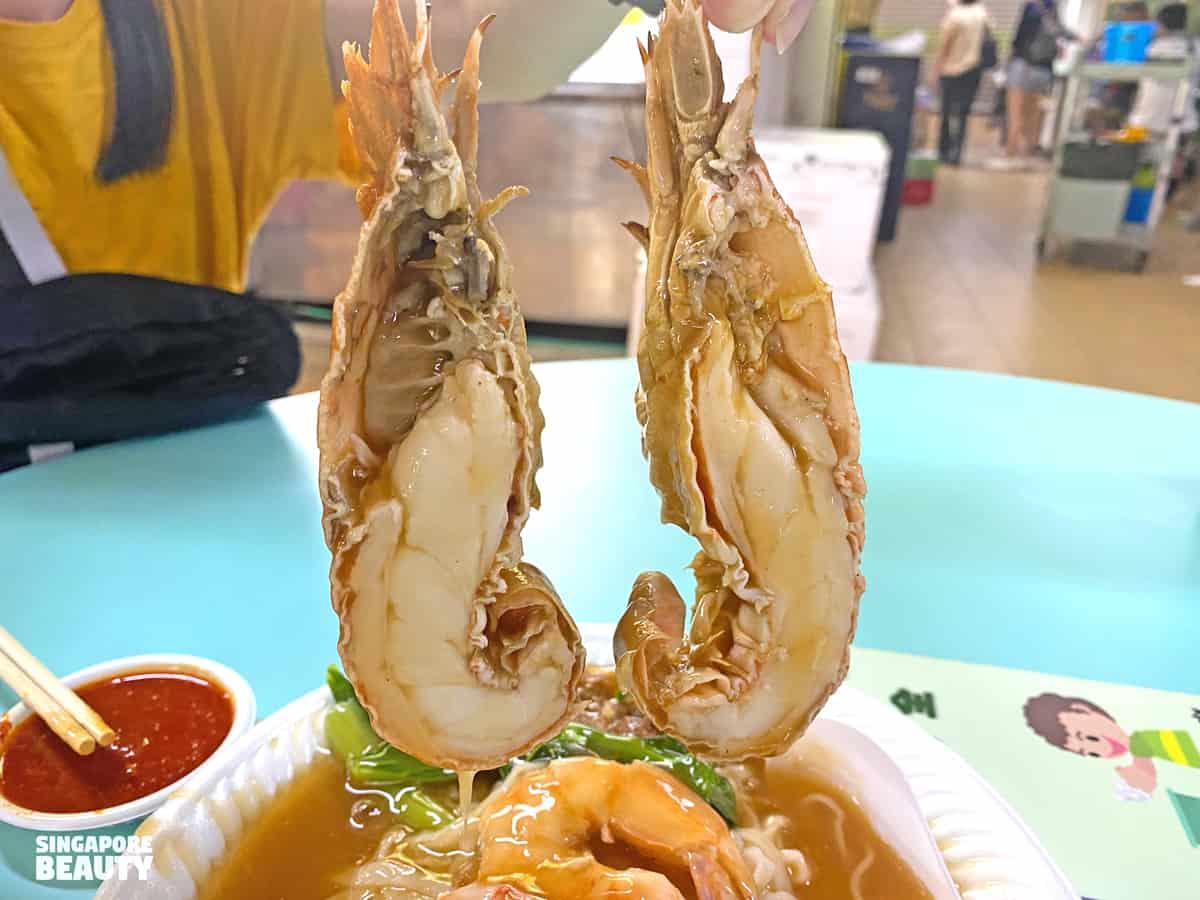 signs of fresh crayfish slipper lobster