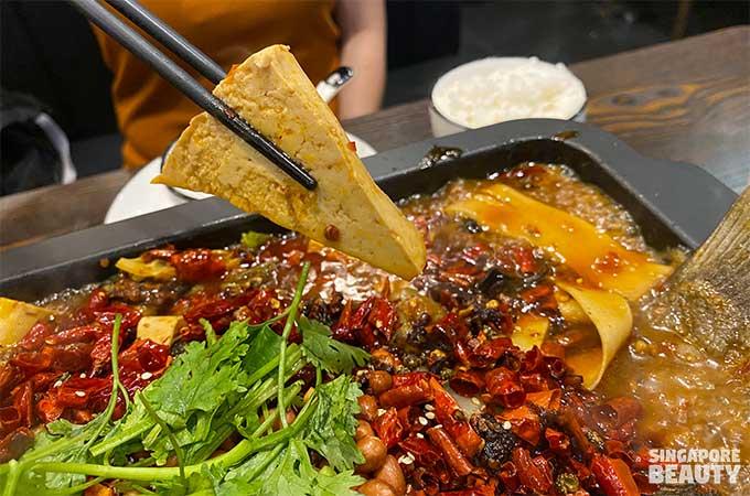 tau huay grilled fish in sengkang