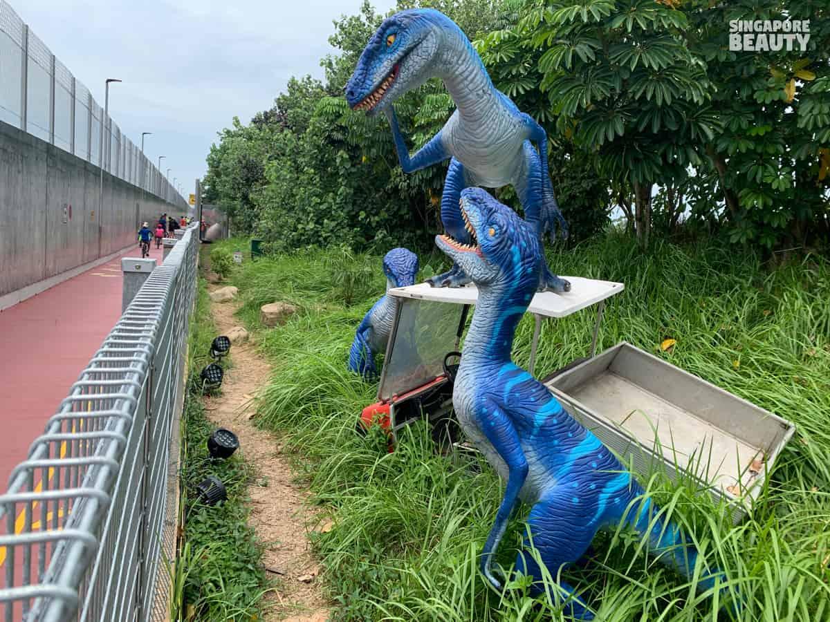 velociraptor predatory dinosaur