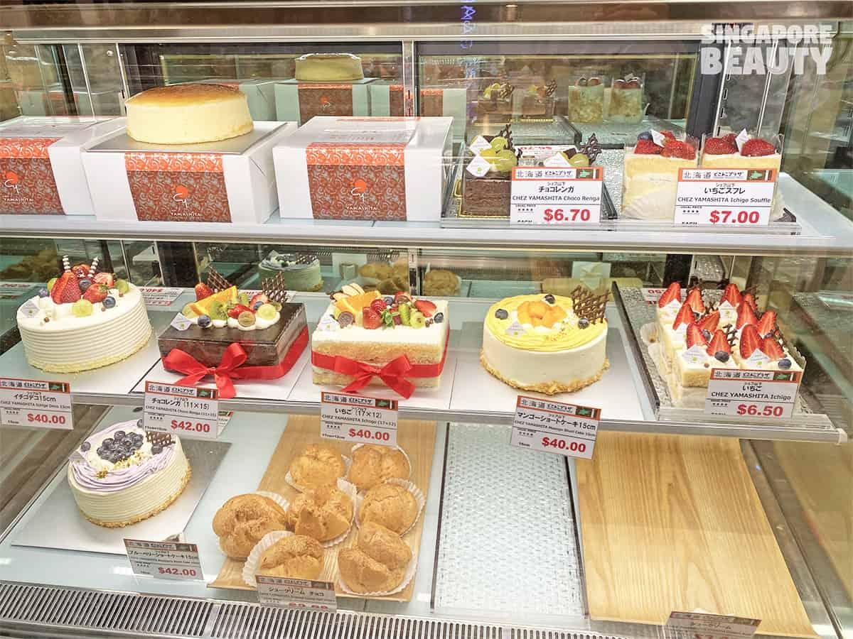 Cakes by Chef Yamashita