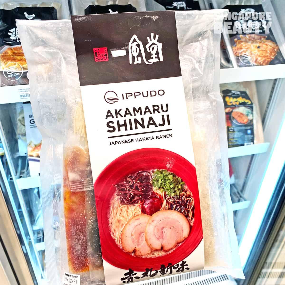 Ippudo Akamaru Shinaji ramen home kit