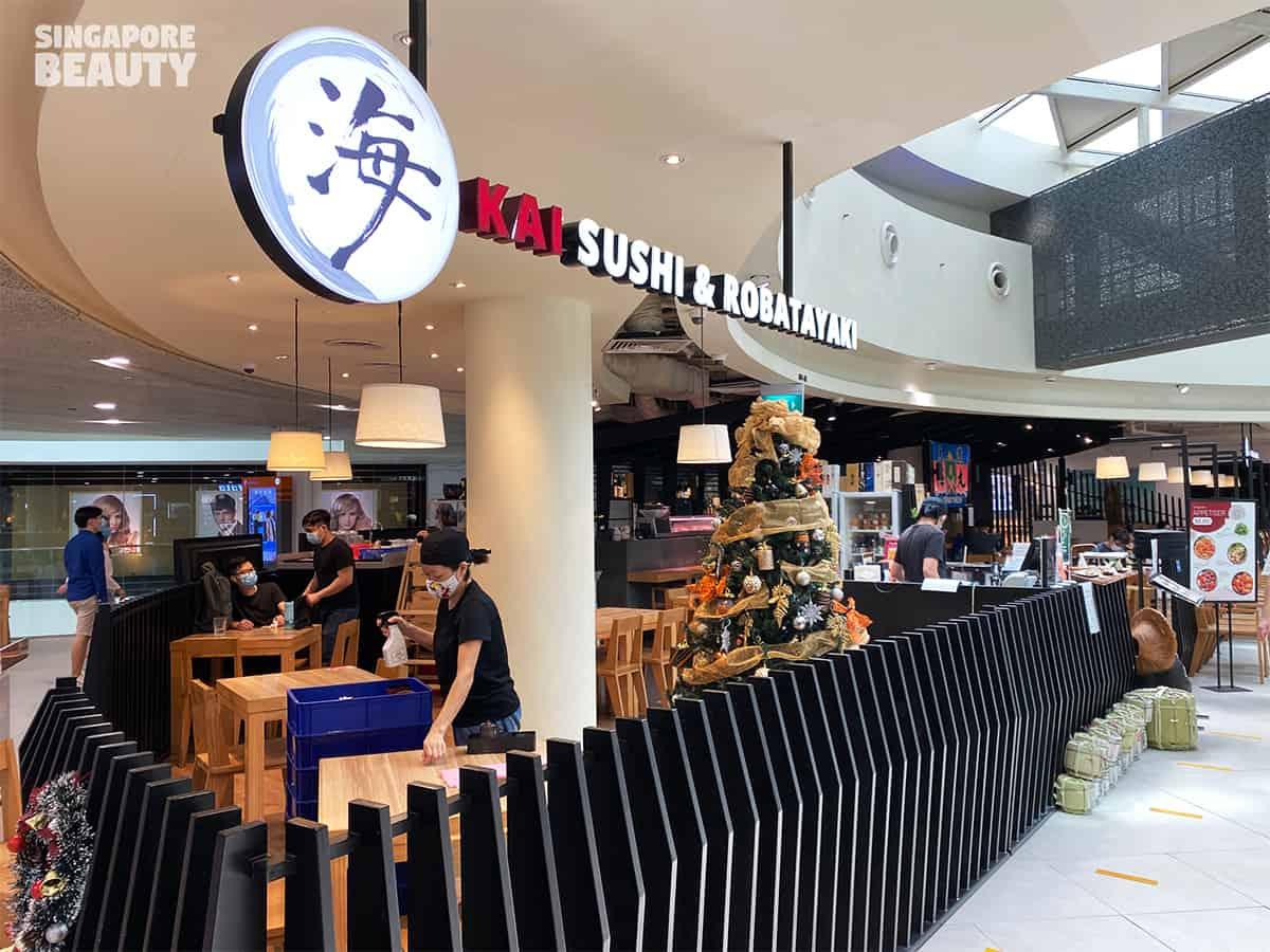 Kai Sushi & Robatayaki Japanese cuisine plaza singapura dhoby ghaut