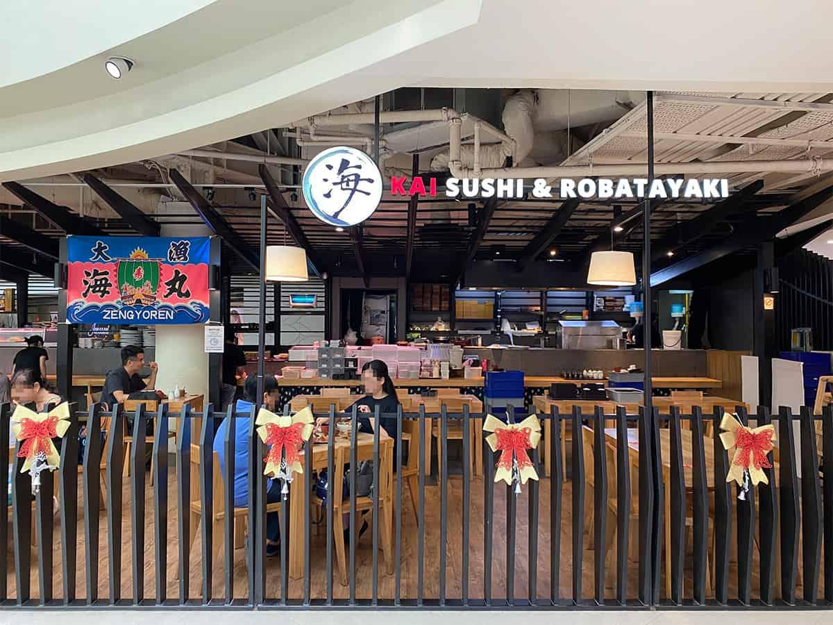 Kai Sushi & Robatayaki plaza singapura