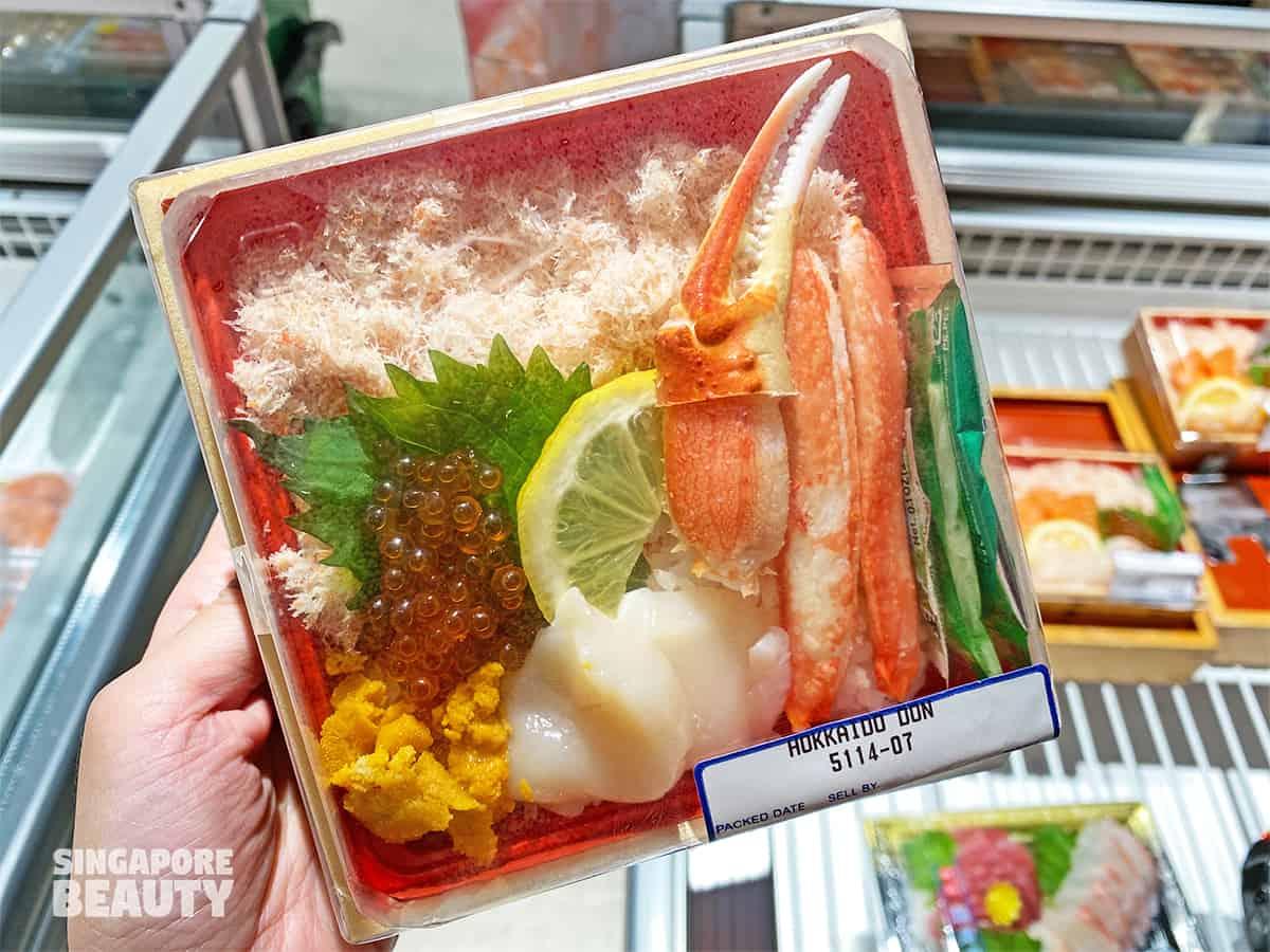 Meidi Ya Hokkaido snow crab uni Don