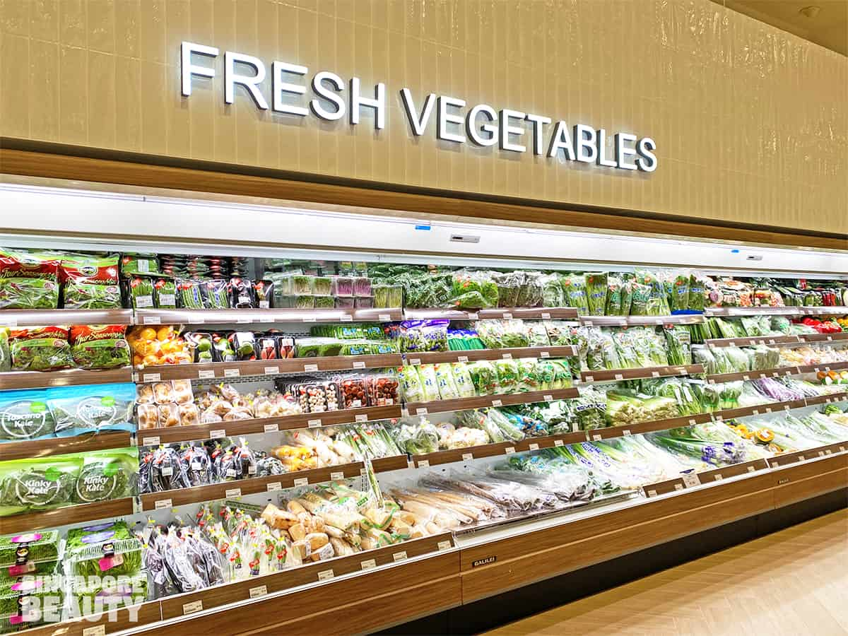 Meidi ya fresh Japan vegetables from Yamagata