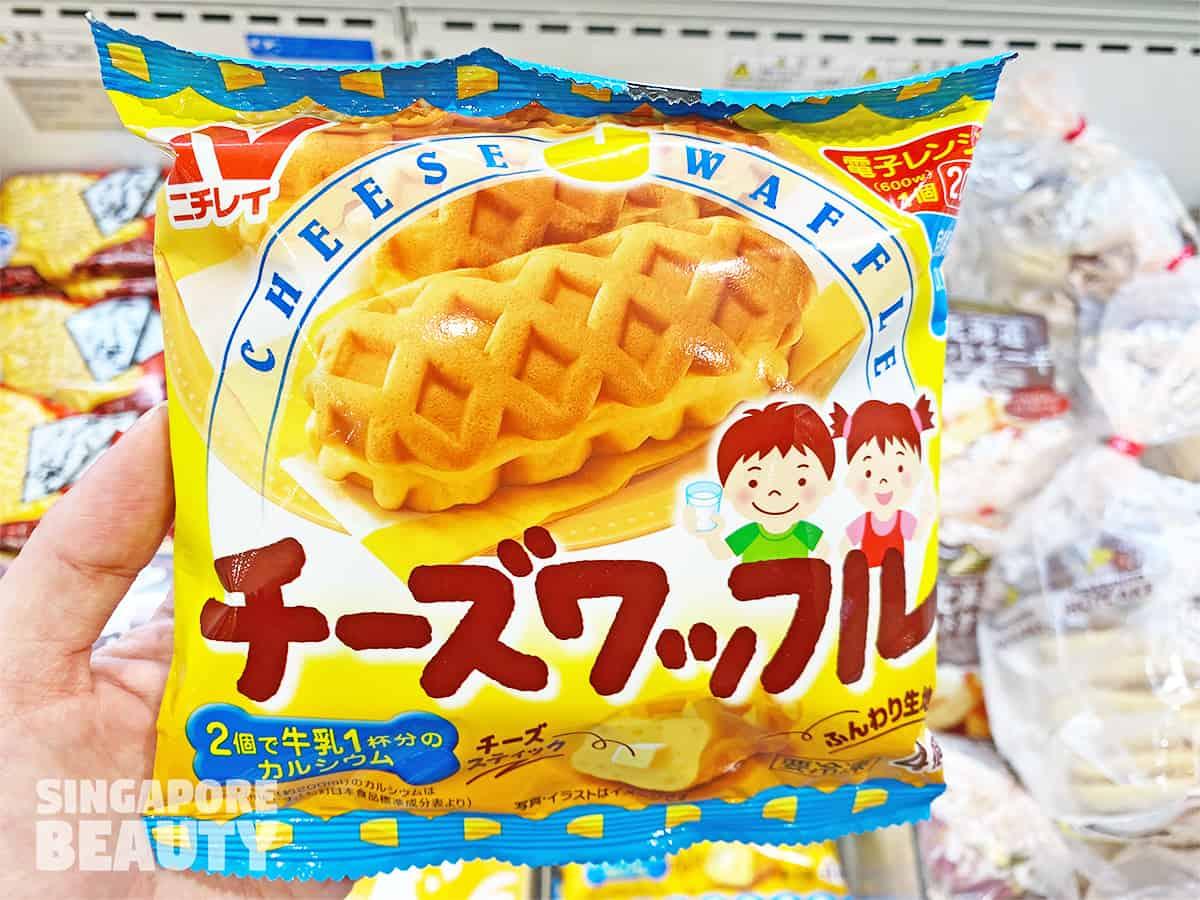 Nichirei cheese waffle
