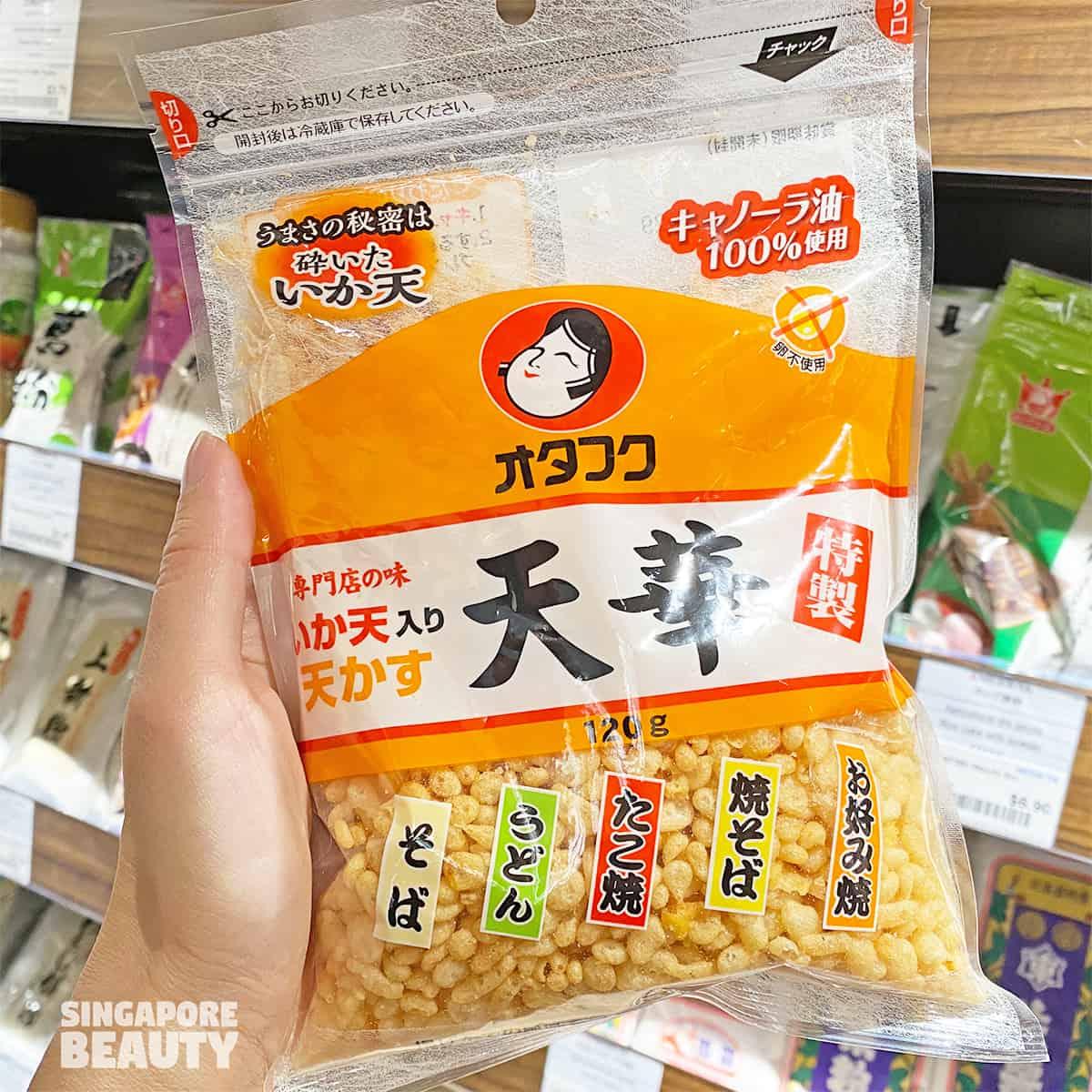 Otafuku tenka tenkasu fried dough