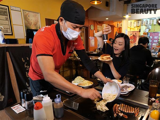 Seiwaa Okonomiyaki and teppanyaki restaurant