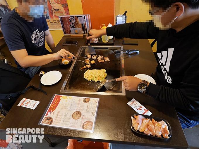 Seiwaa Okonomiyaki & teppanyaki buffet