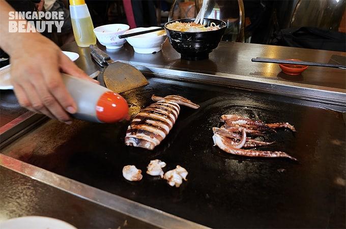 cuttlefish shoyu