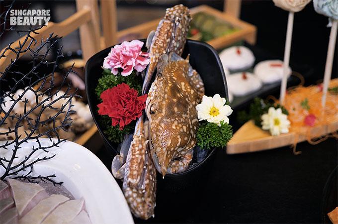flower crab for Yanxi treasure pearl soup
