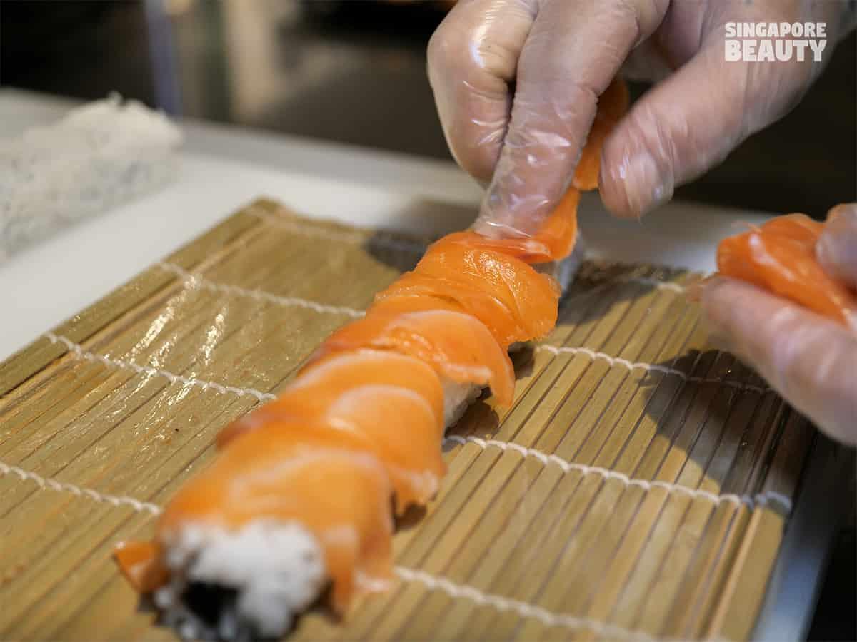 fresh sushi buffet