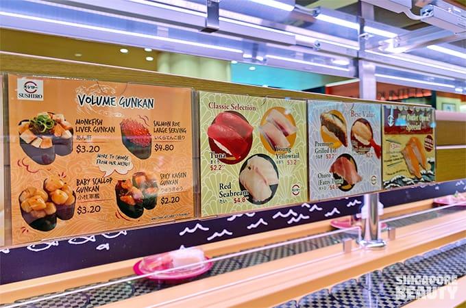 monkfish liver gunkan sushi