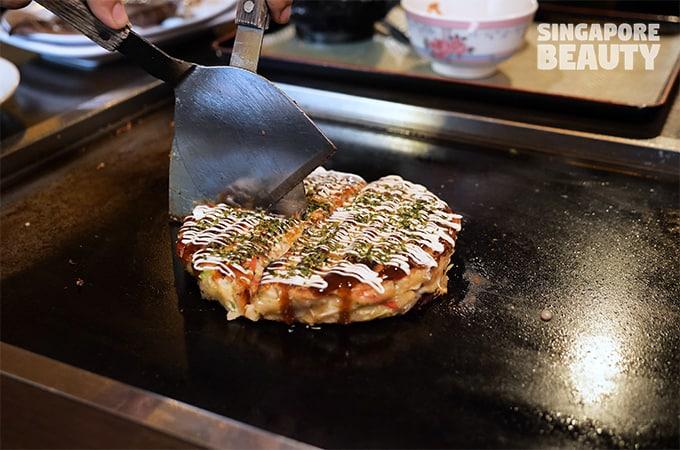 okonomiyaki teppanyaki osaka