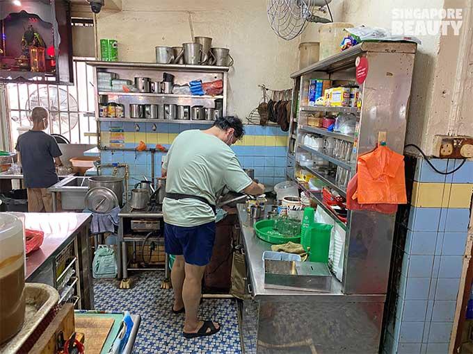 old school coffeeshop in singapore