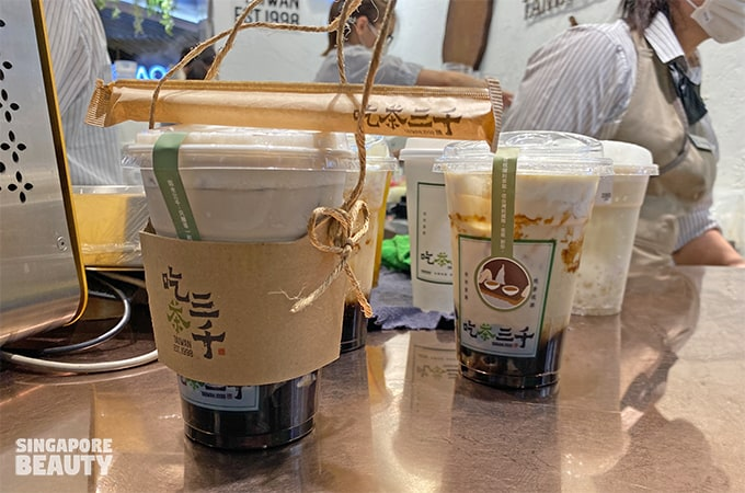 recommended bubble tea at ChiCha San Chen