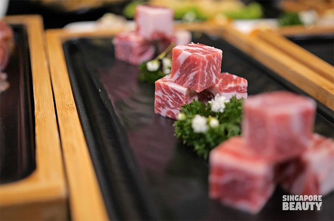 selected US wagyu cubes
