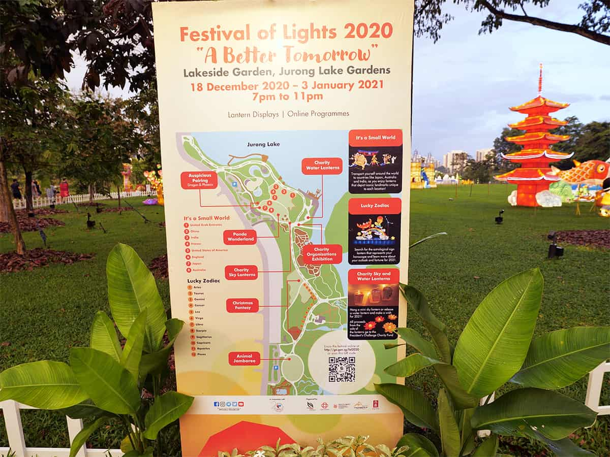 Festival of lights 2020 A Better Tomorrow Its a small world map