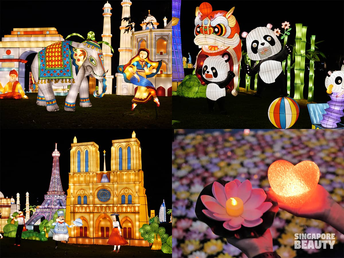 Festival of lights 2020 A Better Tomorrow Its a small world